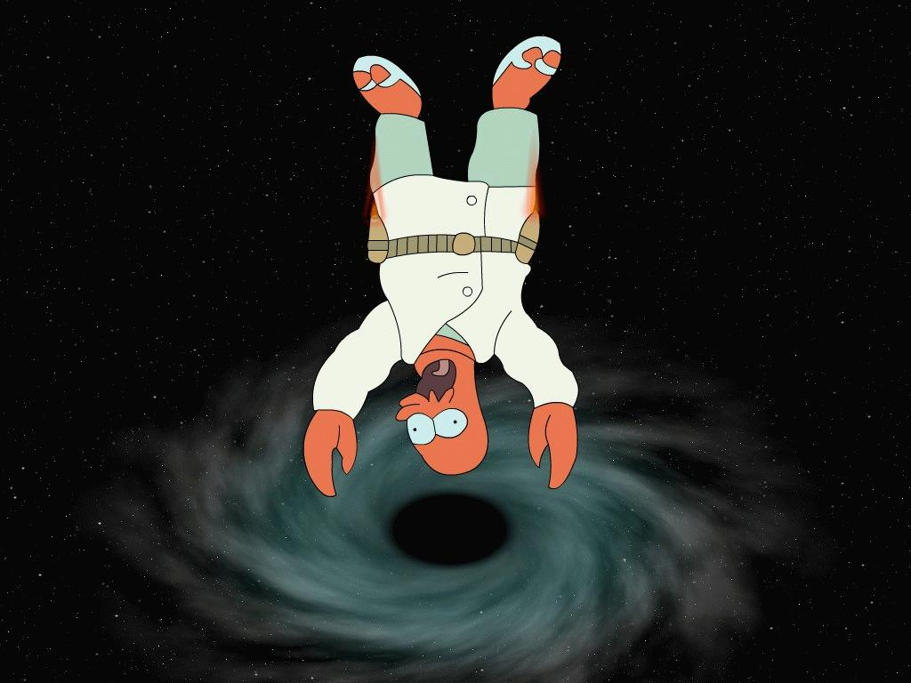 what happens if you fall into a black hole - photo #25